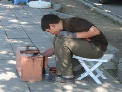 sokakta çalışan çocuklar
